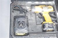 DeWalt 14.4V drill w/ case