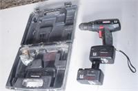 Craftsman 9.6v drill w/ case