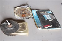 """Saw blades - 10"""", 7 1/4"""",  4 1/2"""" and more"""