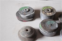 """4"""" cut off wheels & wire cup brush"""
