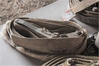 5 ratchet straps & tote