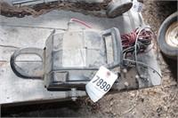 12v portable winch w/ plates
