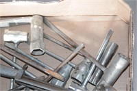 chainsaw wrenches &file