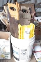 hand saws - large quantity