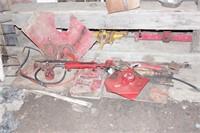 Case IH combine parts, hydraulics & brackets