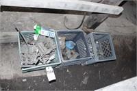 Holley Carburetors, milk crates, door handles etc