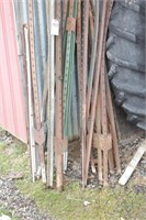 fence posts (12+pcs)