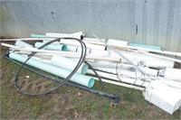 PVC drain pipe