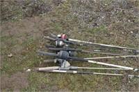 fishing poles - Closed reel