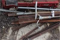 Angle Iron & Barrel Pump