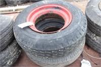 Pair of 8-14.5MH tires w/ rims