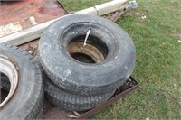 Pair of 7-14.5MH tires w/ rims