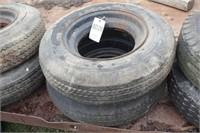 Pair of 7-14.5MH tires w/ rims