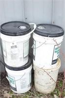5 gallon pails