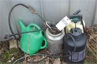 Sprayers and watering can
