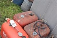 3pcs 6 gallon marine gas tanks