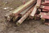 fence posts & slats