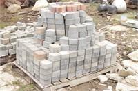 grey brick pavers