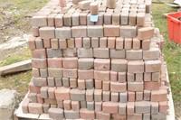 Red brick pavers