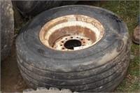 12.5l-15sl tire w/ ag rim - 6 or 12 bolt