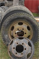 Heavy duty truck tires & rims