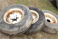 3pc sprayer tires and rims