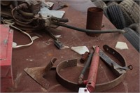 small vice, cultivator discs, cable & more