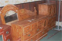 4 Drawer Dresser, 4 Drawer Chest & Headboard