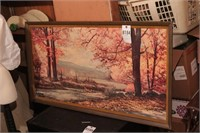 Robert Wood Autumn Print