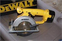 DeWalt DW930 12v Cordless Circular Saw & Case