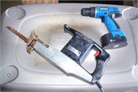 Craftsman Corded Recipro Saw & Power-All 18v Drill