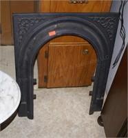 Cast Iron Fireplace / Stove Door Frame