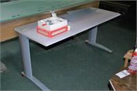 Formica Top Steel Framed Office Desk