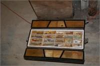 Fishing Tackle & Sears Tackle Box
