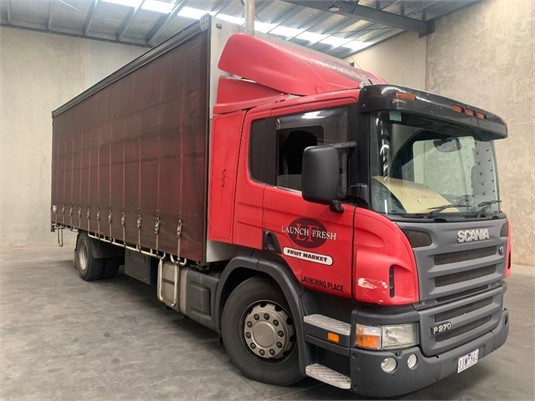 2006 Scania P270 - Trucks for Sale