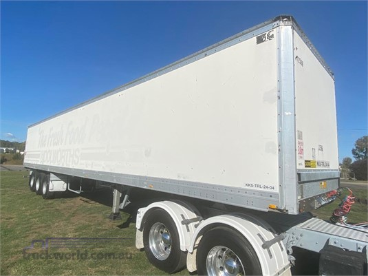 2001 Maxitrans 48ft Pantech Trailer - Trailers for Sale