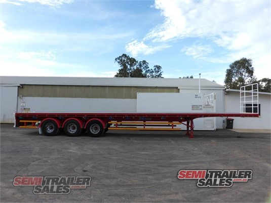 2012 Vawdrey Flat Top Trailer Semi Trailer Sales - Trailers for Sale