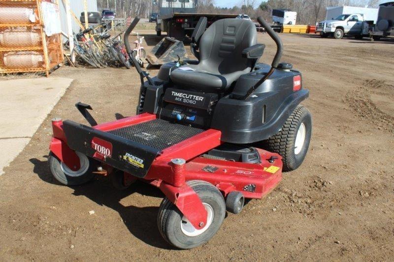 Toro Time Cutter MX5060 Zero Turn Riding Lawn | Smith Sales LLC | Mx5060 Toro Kawasaki Engine Diagram |  | Smith Auctions