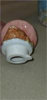 Beautiful Lefton China Handpainted Bunny Teapot