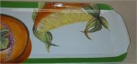 Estate Lot of Sea Shell Box & Fruit Tray