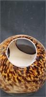 Beautiful murano glass vase