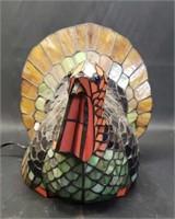 Beautiful Turkey Tiffany style lamp