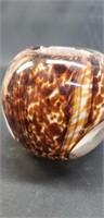 Beautiful murano style glass vase