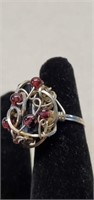Beautiful Sterling Silver Rings with Stones