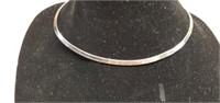 Sterling Silver Band Necklace