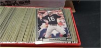 280 Action packed football player cards