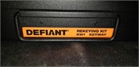 New Defiant Re-keying kit KW1