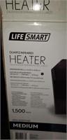 Life smart quartz infared heater with remote