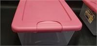 Pair of sterilite latching box