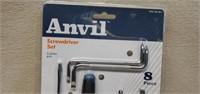 Anvil Cushion Grip Screwdriver Set